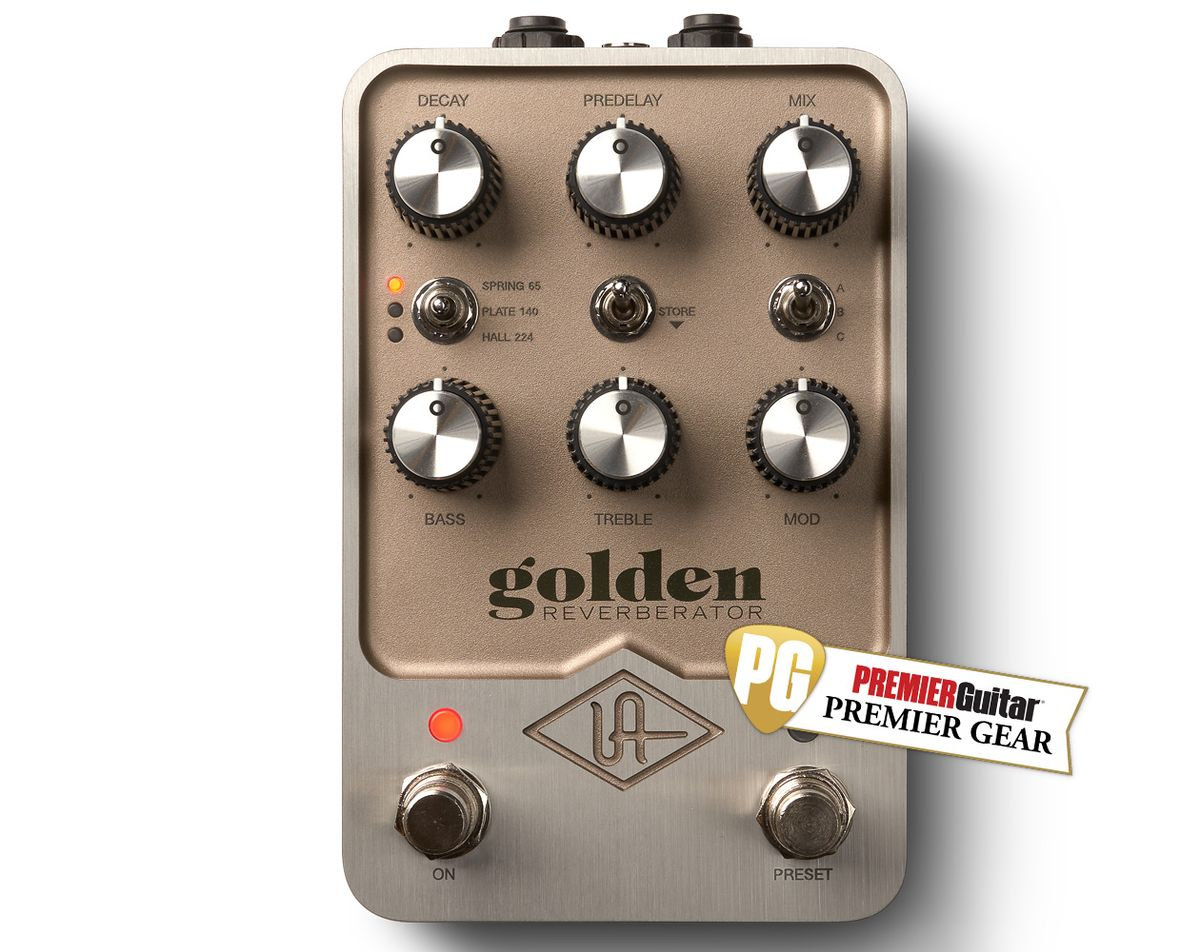 Universal Audio Golden Reverberator: The Premier Guitar Review