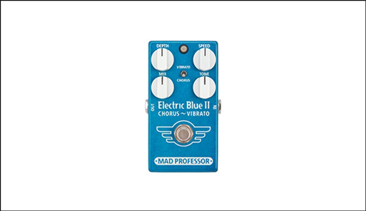 Mad Professor Amplification: Electric Blue II Chorus - Vibrato