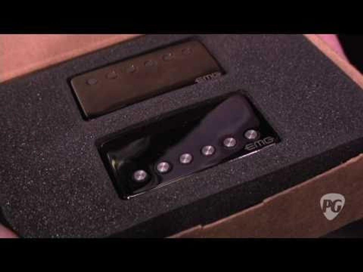 NAMM '11 - EMG James Hetfield Signature Pickups