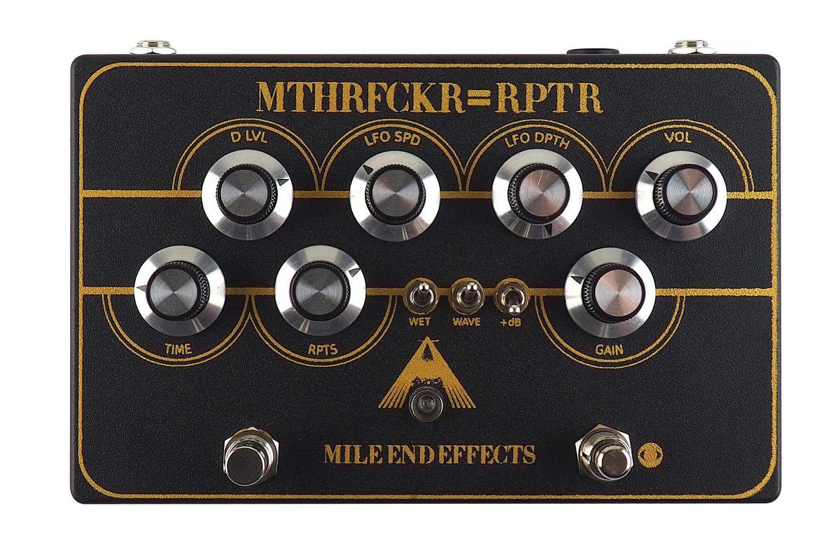 Mile End Effects MTHRFCKR=RPTR delay, overdrive, modulation