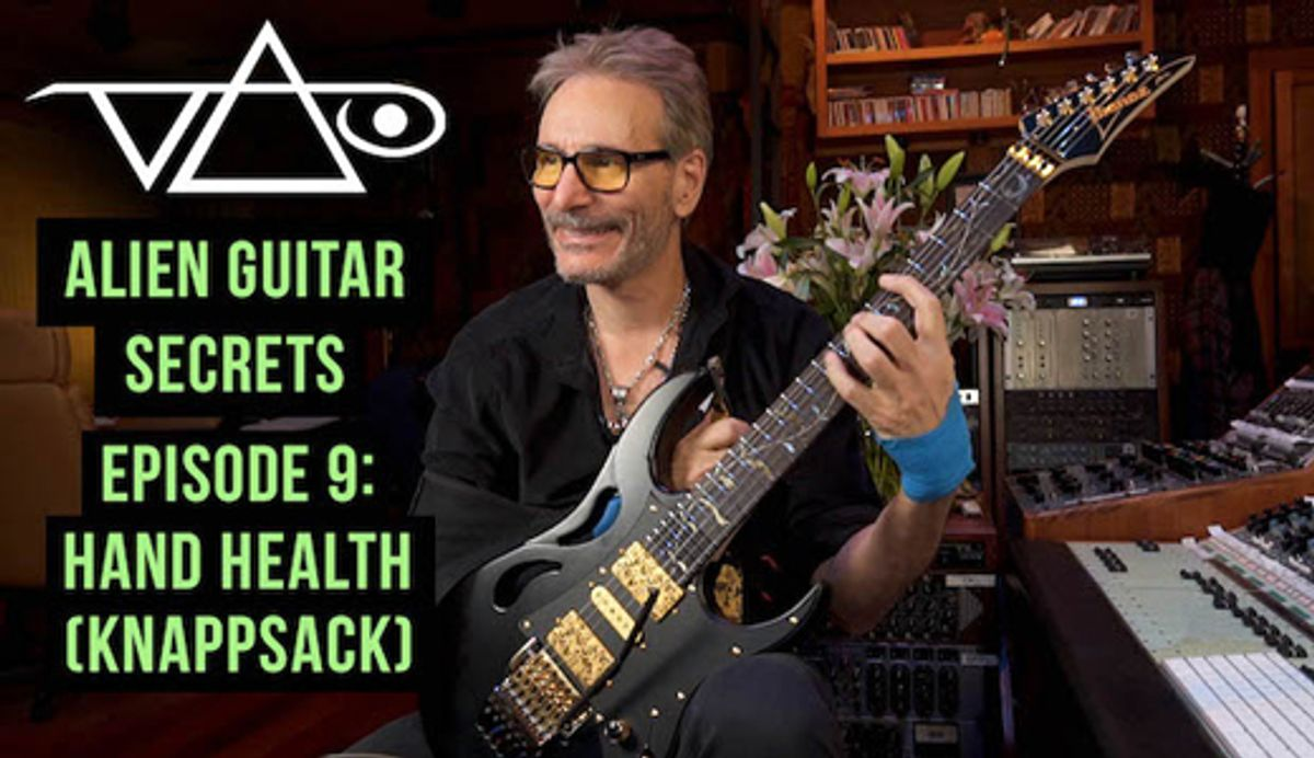 Steve Vai Releases Alien Guitar Secrets #9 and Launches Patreon Page