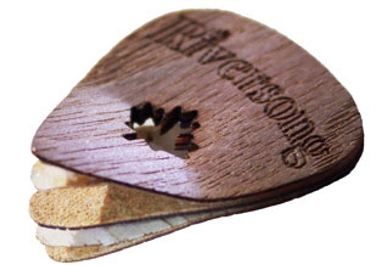 Riversong Guitars Unveils Wooden Guitar Picks