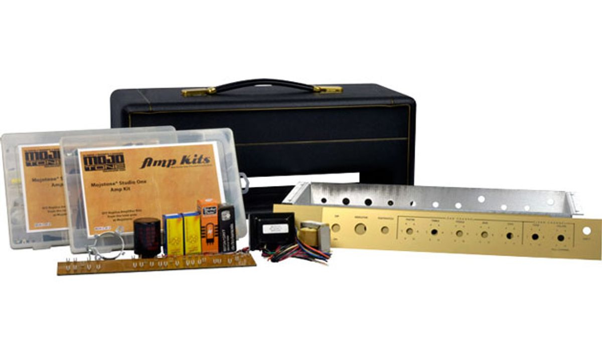 Mojotone Introduces the Studio One Amplifier Kit