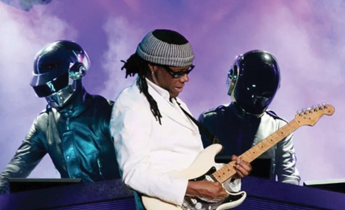Nile Rodgers and Daft Punk