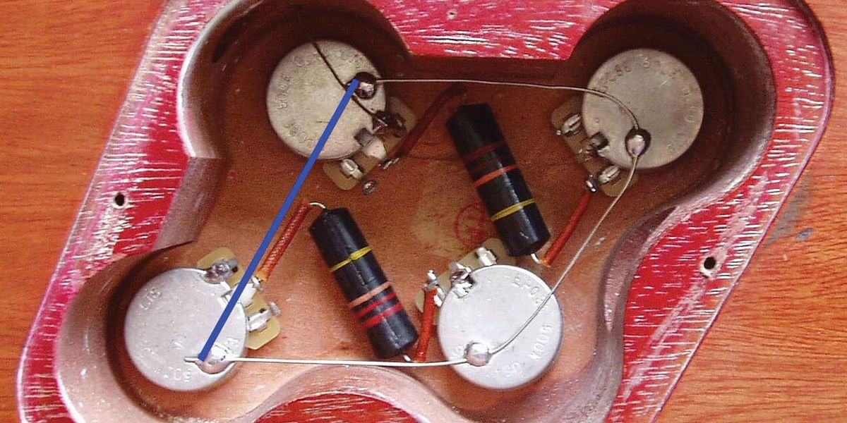 Grounding Passive Guitar (and Bass) Circuits, Part 1 - Image 1 Les Paul Wiring