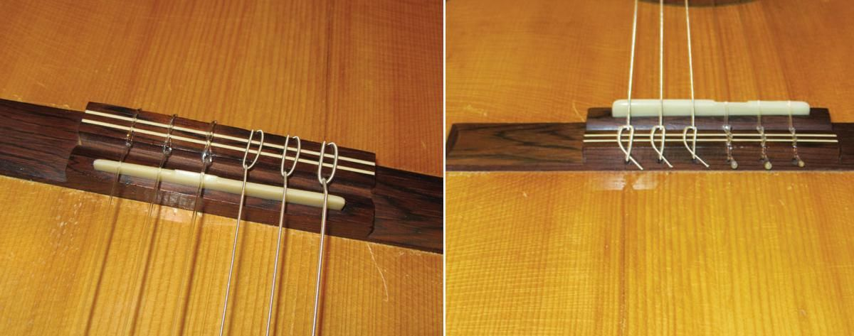 Mod Garage: Conquering Classical Guitar String-Changing Terror Photos 1 & 2