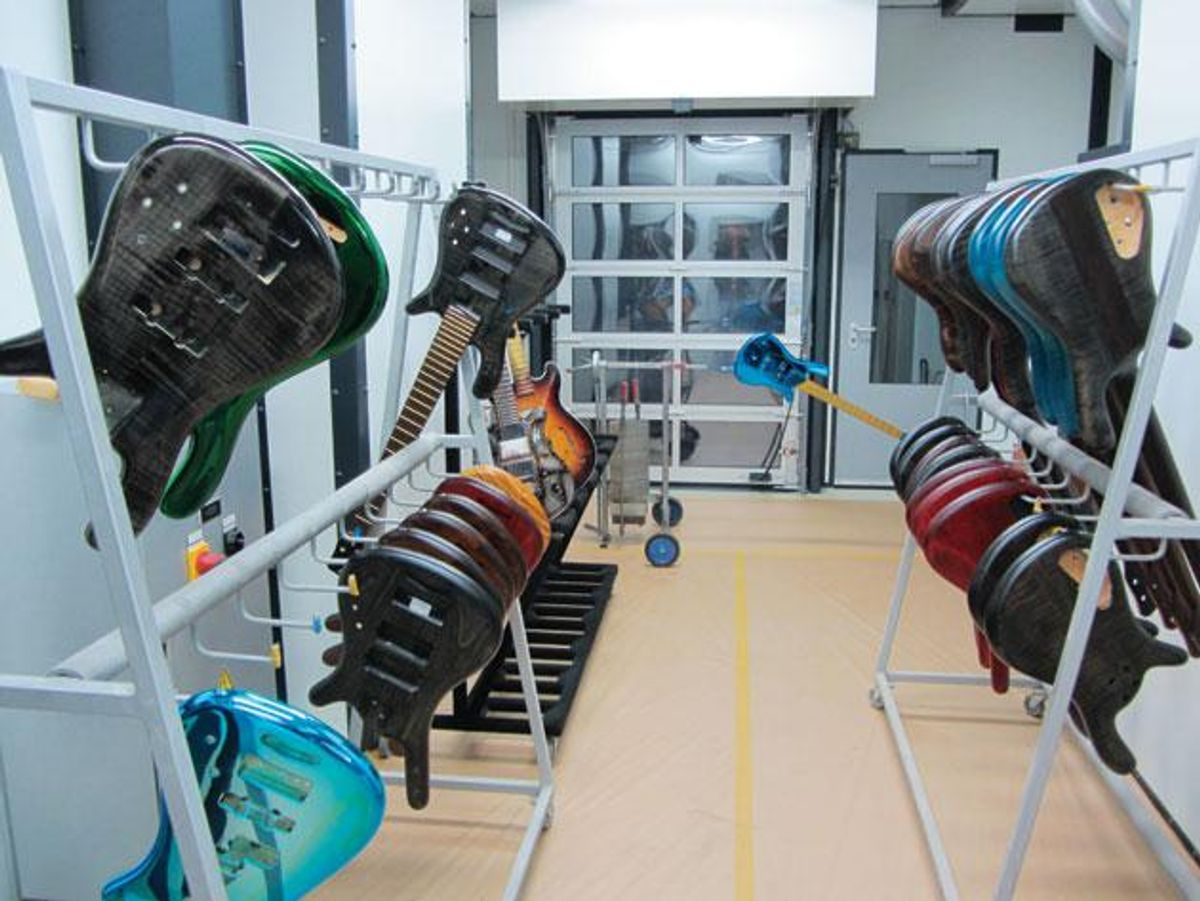Warwick Guitar Factory in Germany