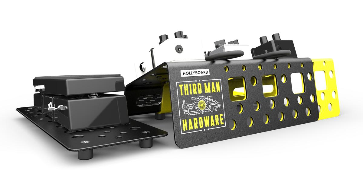 Third Man Hardware Pedalboard