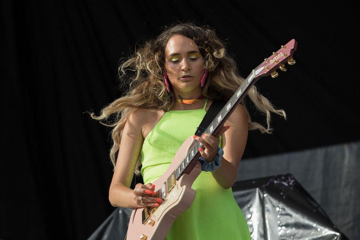 Speedy Ortiz's Sadie Dupuis and Andy Molholt: Guitar Heroes