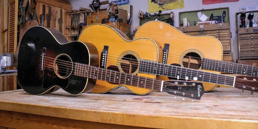 Vintage Acoustic Guitars