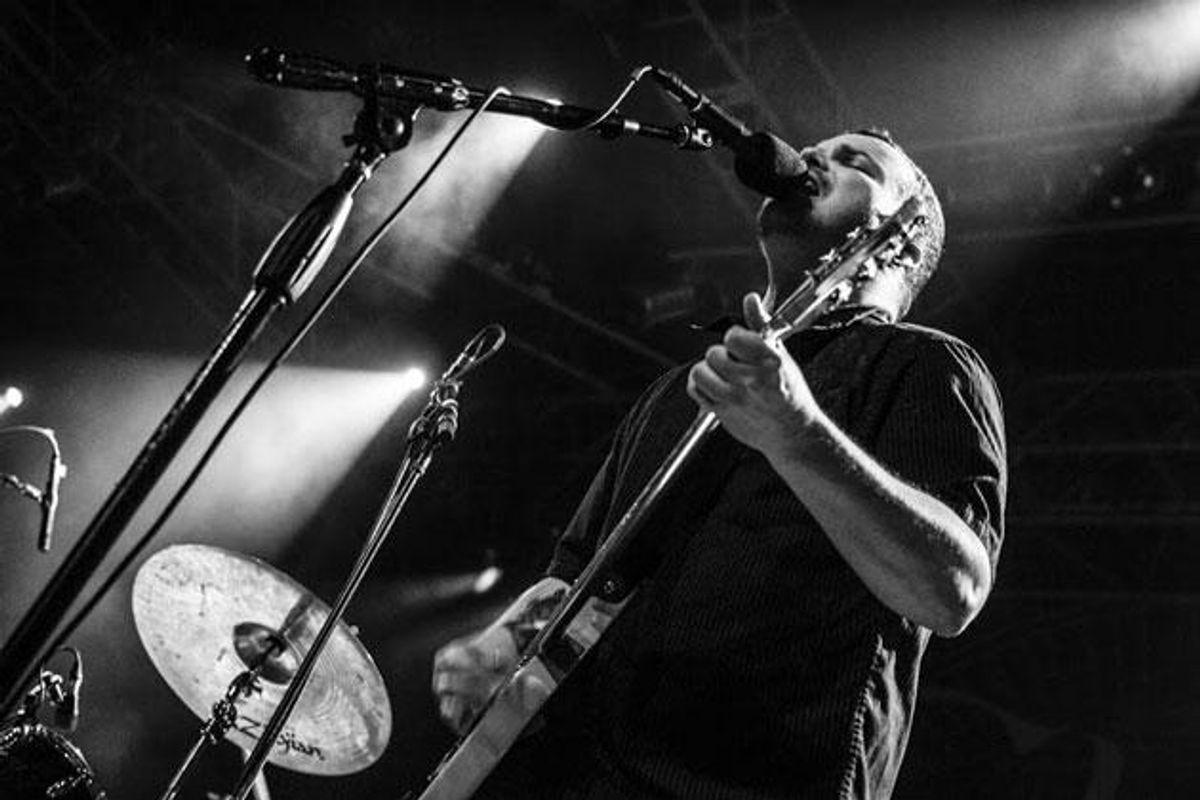 Torche guitarist Steve Brooks