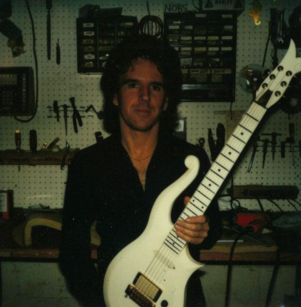 Luthier Dave Rusan