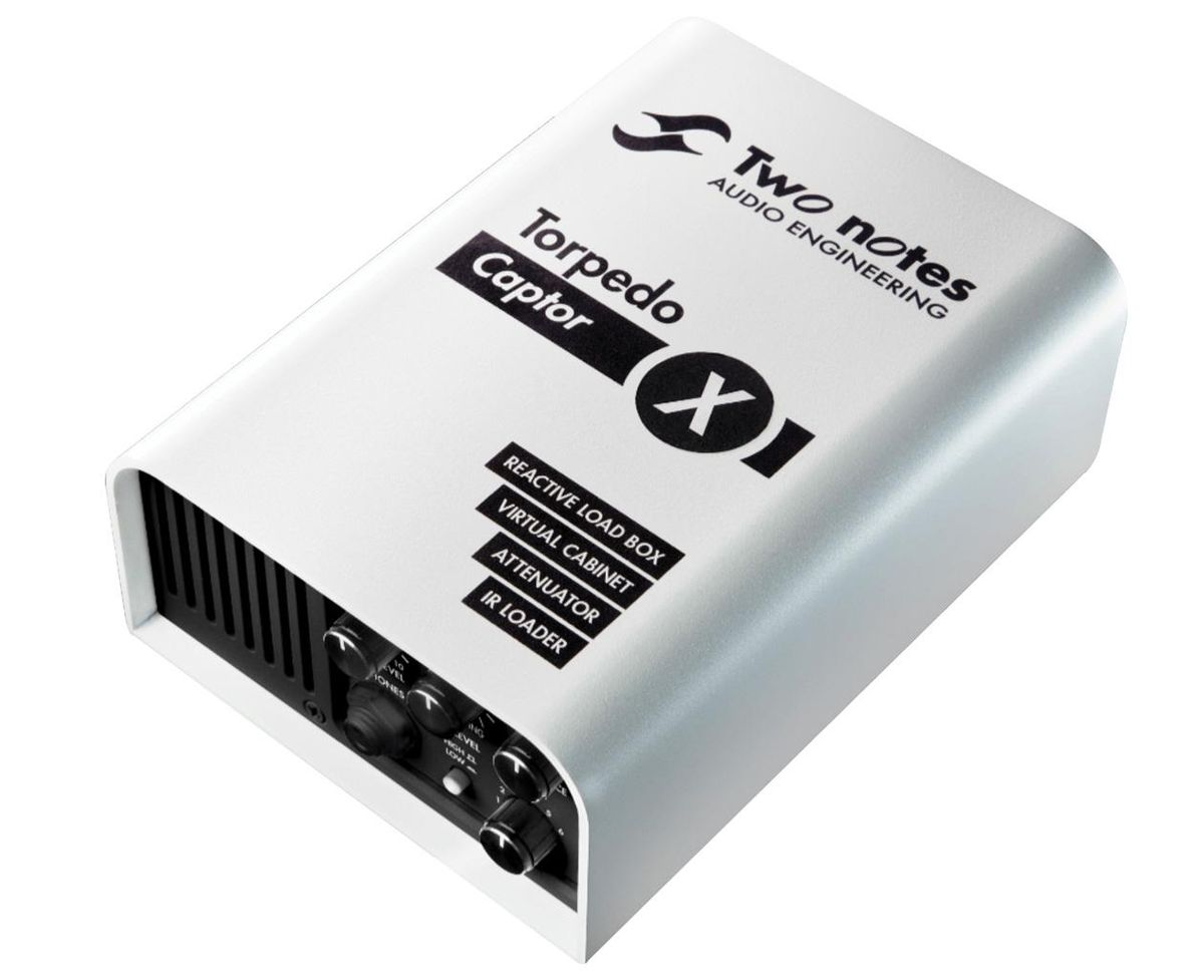 Two Notes Torpedo Captor X Reactive Load Box DI and Attenuator