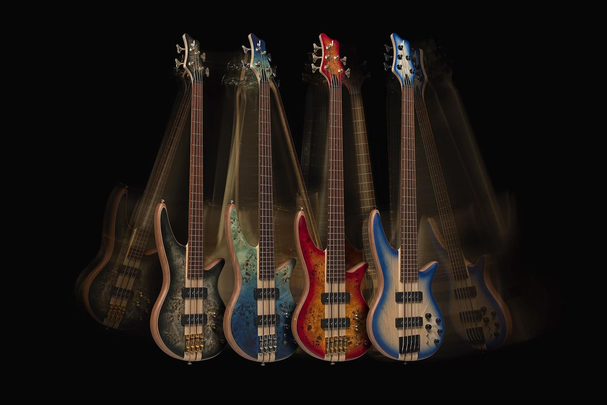 Jackson Announces the Pro Series Spectra, X Series Concert and X Series Spectra Basses