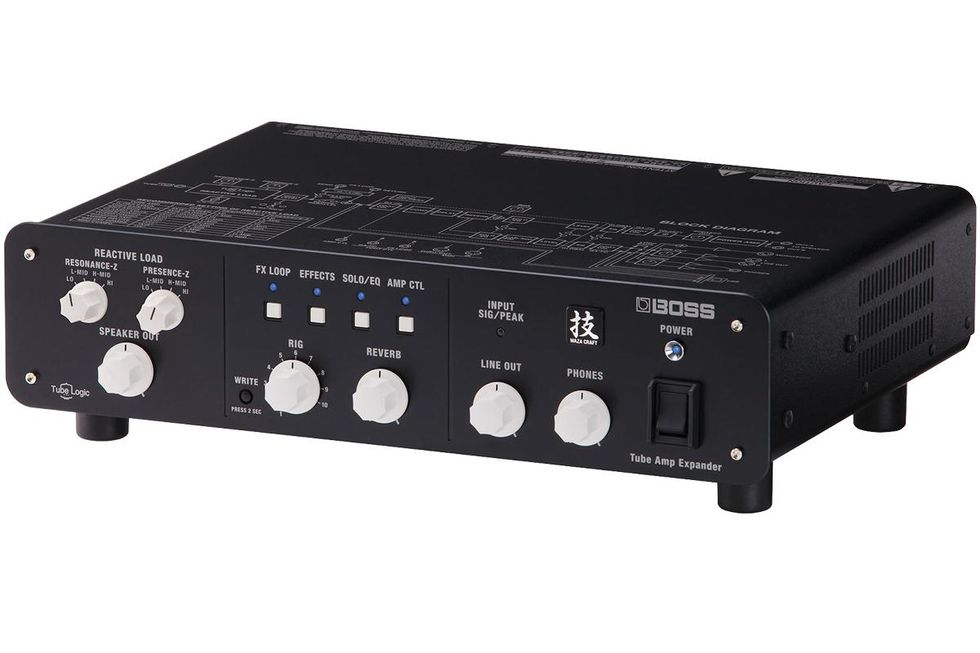 Boss WAZA Tube Amp Expander Amplifier Attenuator