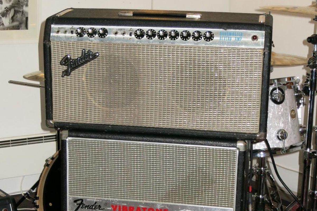 vintage Fender Bandmaster Reverb