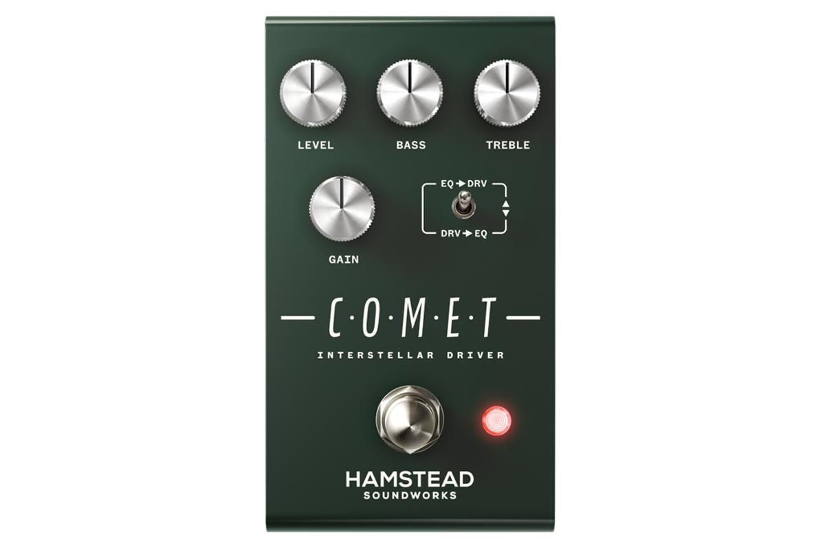 Hamstead Launches the Comet