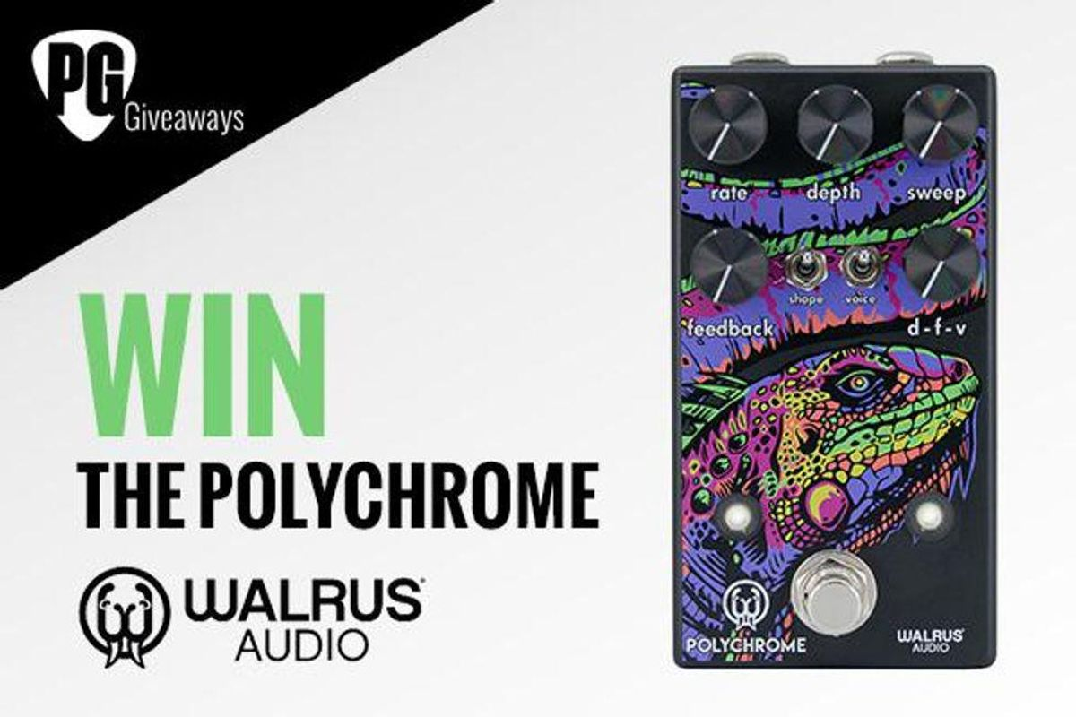 Walrus Audio Polychrome Flanger Giveaway