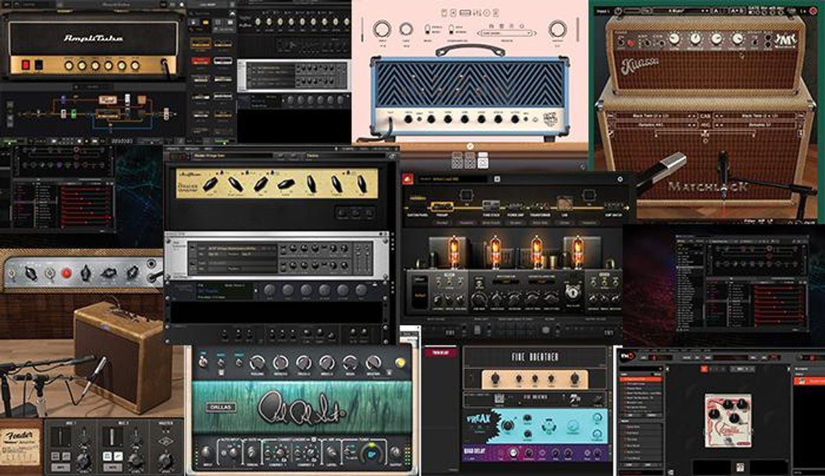 10 Amp Sims That Deliver Big Tones