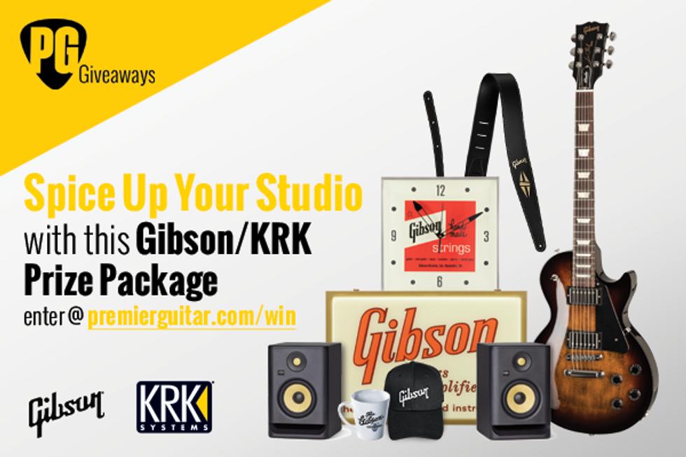 Gibson Les Paul Studio Giveaway!