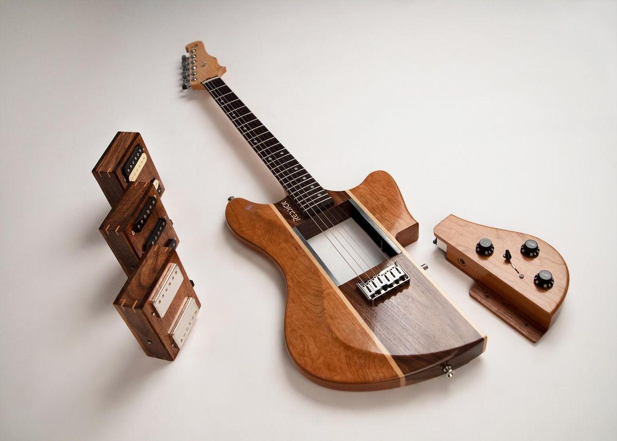 Reddick Guitars Introduces the Voyager Modular Guitar