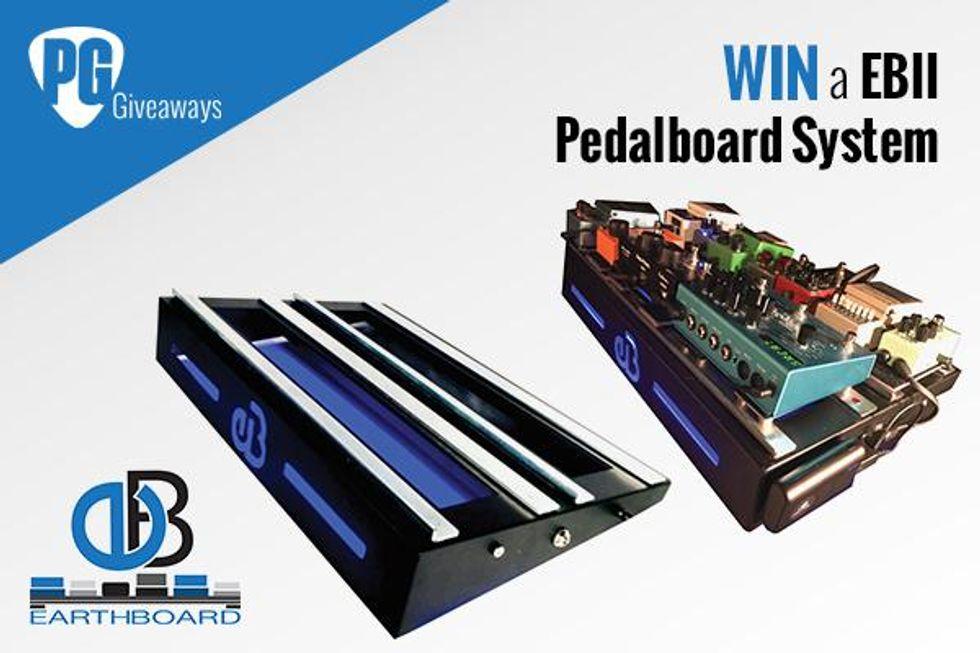 Win an EBII Pedalboard from Earthboard!