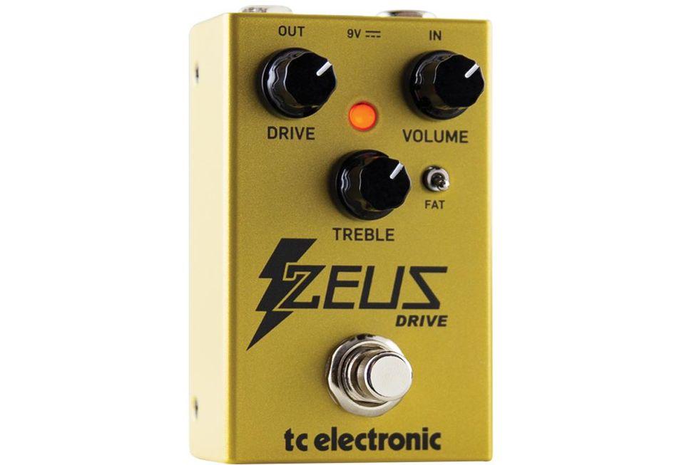 tc electronic zeus drive pedal