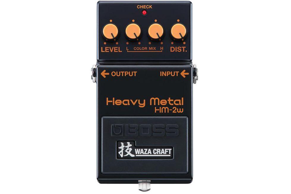 Boss HM-2w Waza Craft Heavy Metal