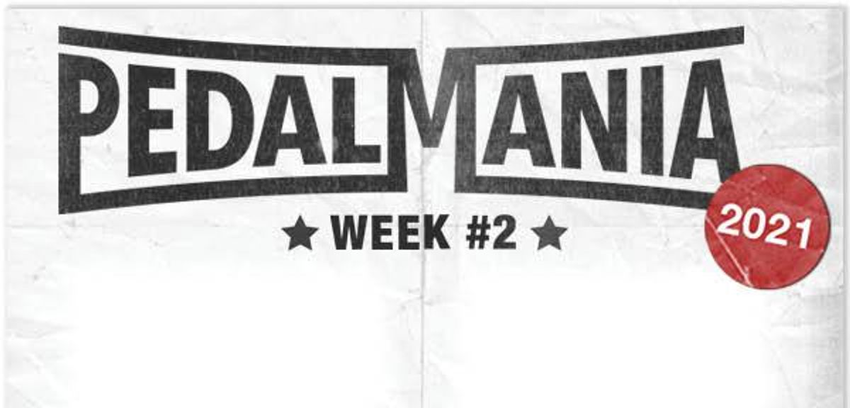 Five More Chances To Win in Pedalmania Week #2