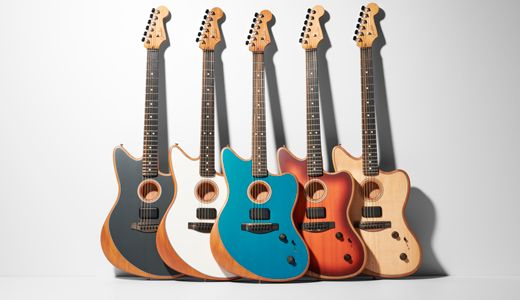 Fender Unveils the American Acoustasonic Jazzmaster