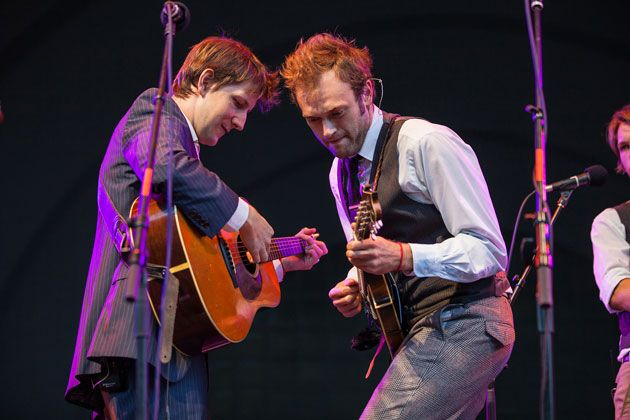 The Punch Brothers' Chris Eldridge and Chris Thile: Classically Blue(grass)