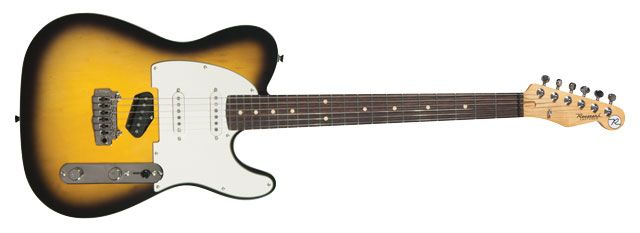 Reverend Pete Anderson Eastsider S Guitar Review