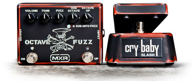 Dunlop Introduces the MXR Slash Octave Fuzz & Slash Cry Baby Classic
