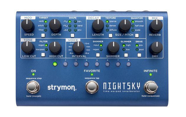 Strymon Introduces the NightSky Time-Warped Reverberator