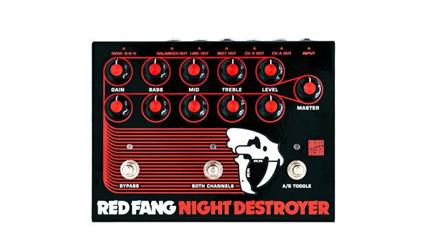 Hilbish Design and Red Fang Introduce the Night Destroyer Preamp Pedal