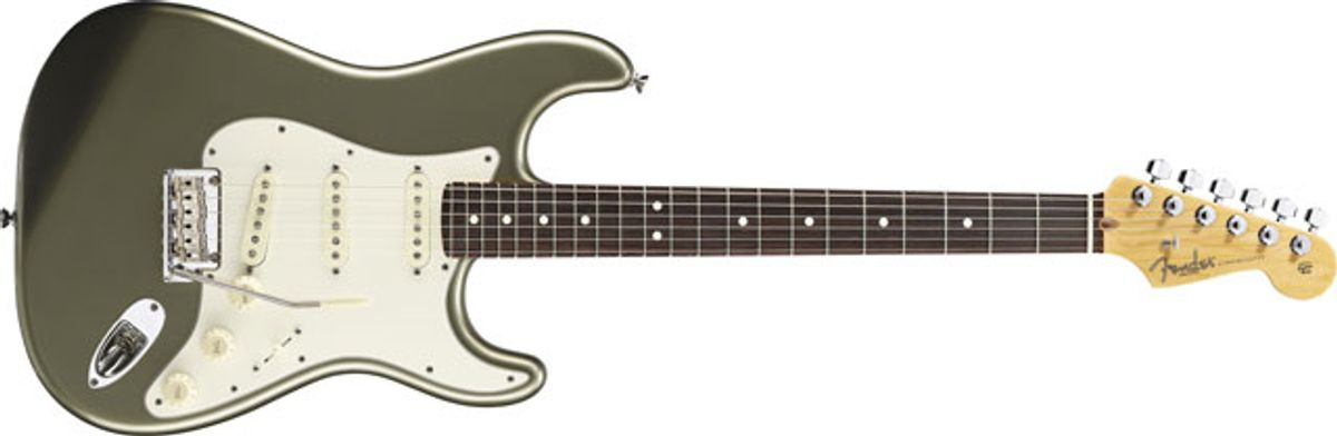 Fender Introduces Upgraded American Standard Series Models for 2012