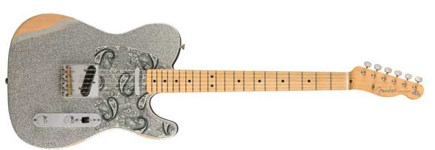 Fender Releases the Brad Paisley Road Worn Telecaster