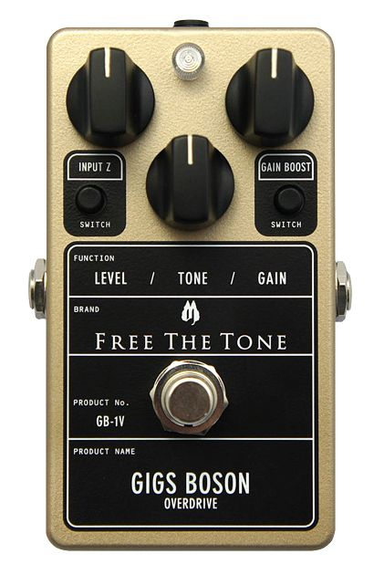 Free The Tone Unveils Gigs Boson Overdrive