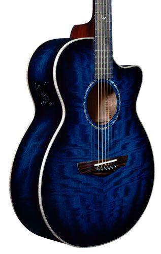 Faith Guitars Releases the Blue Moon Series Venus Acoustic