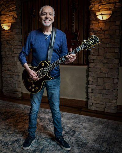 "Gibson Releases the Peter Frampton ""Phenix"" Les Paul Custom VOS"