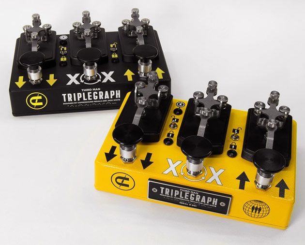 Jack White and Coppersound Pedals Announce the Triplegraph