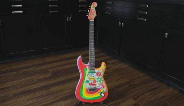 "Fender Custom Shop Releases Master Built George Harrison ""Rocky"" Stratocaster"