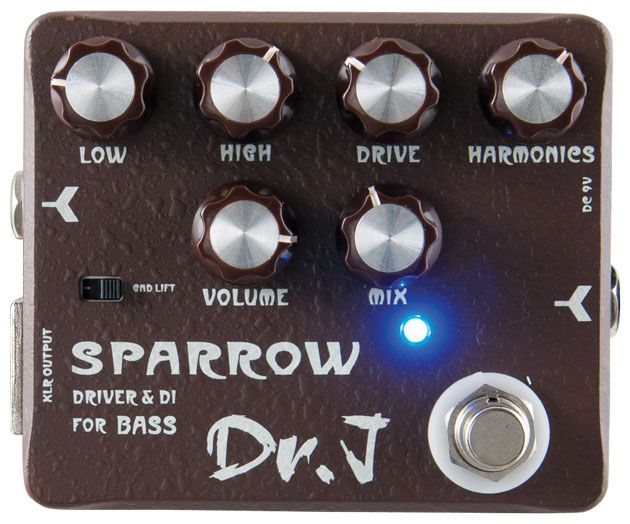 Dr. J D53 Sparrow Driver and DI Review