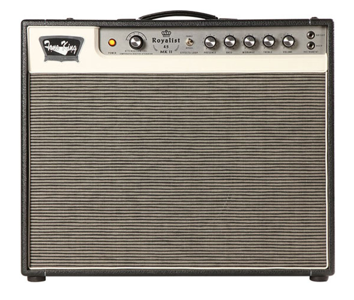 Tone King Amplification Releases the Royalist 45 Mk II and the Ironman II Mini Precision Reactive Power Attenuator