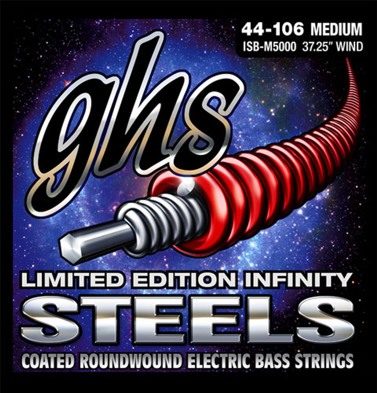GHS Unveils Limited-Edition Infinity Steels Bass Strings