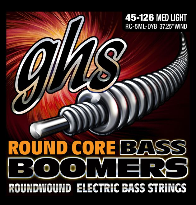 GHS Unveil Round Core and Crossover Bass Strings