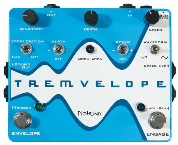 Pigtronix Tremvelope Pedal Review