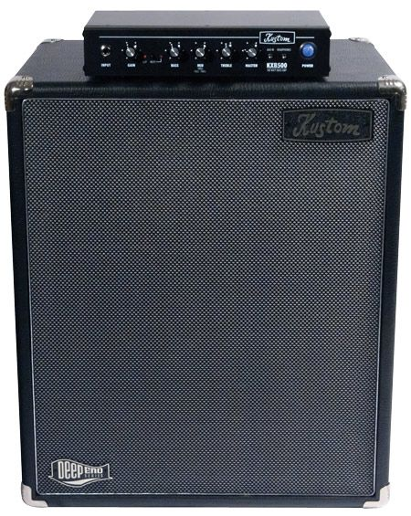 Kustom Amplification KXB500 Bass Amp and DE115NEO Bass Cab Review