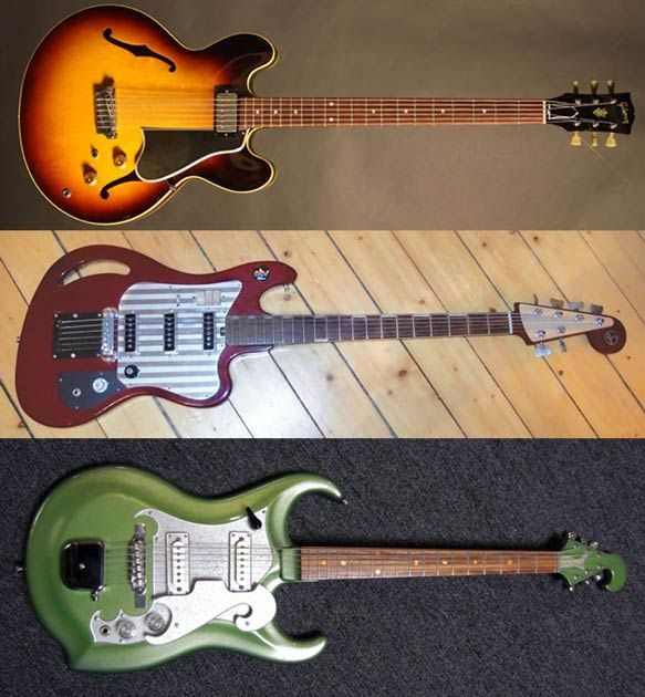 Deep 6: A Brief History of the Tragically Underused Electric Baritone Guitar