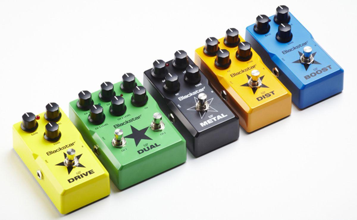 Blackstar Announces Compact LT Pedals